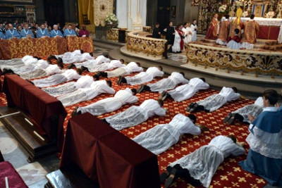 International Ordinations for Institue of Christ the King Sovereign Priest ICKSP