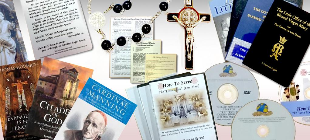 Latin Mass Society Shop