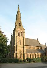 Wrexham Cathedral. Picture from www.wrexham.gov.uk